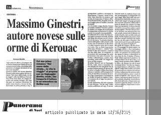 - Articolo Novicronaca -Panorama di Novi Ligure di Francesca Martello